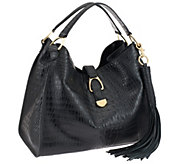 G.I.L.I. Stirrup Leather Hobo Bag - A259715