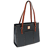As Is Dooney & Bourke Pebble Leather Charlotte Bag - A265815