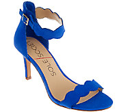 Sole Society Suede Open-toe Ankle Strap Pumps - Pia - A266315