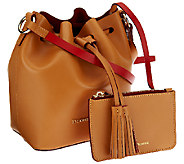 Dooney & Bourke Montecito Leather Serena Crossbody Bag with Pouch - A266615