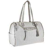Aimee Kestenberg Nylon Quilted Weekender Bag - J...