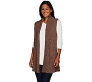 Liz Claiborne New York Sweater Vest with Shawl Collar - A268715