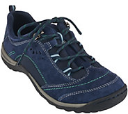 As Is Earth Origins Suede Water Resistant Sneakers - Kamryn - A281015