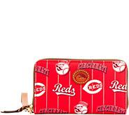 Dooney & Bourke MLB Nylon Reds Zip Around Phone Wristlet - A281715