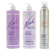 Nick Chavez Advanced Volume 32oz Shampoo & Conditioner w/ Hairspray - A282315