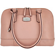 As Is Tignanello Oversized Pebble Leather RFID Satchel - A282415