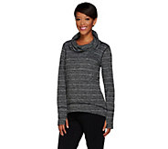 As Is cee bee CHERYL BURKE Long Sleeve Cowl Neck Pullover - A285315