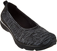 Vionic Orthotic Mesh Heather Knit Slip-ons - Aviva - A286615