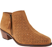 Vionic Suede Ankle Boots - Daytona - A303115