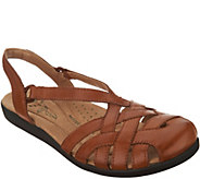 Earth Origins Leather Closed Toe Sandals - Nellie - A304215
