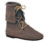 Minnetonka Womens Tramper Ankle Hi Hardsole Boots - A320315