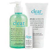 philosophy clear days ahead full-sized acne kit - A329615
