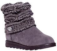 MUK LUKS Patti Cable Cuff Boots - A331115