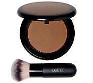 Doll 10 Golden Pearl Bronzing Powder Original with Brush No. 9 - A339015