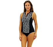 Fit 4 U All Sleeveless Swim Shirt - A339815