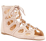 Sole Society Lace-up Flat Sandals - Makena - A340415