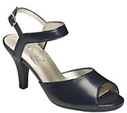 Aerosoles Heel Rest Leather Heeled Sandals - Gridlux - A340515