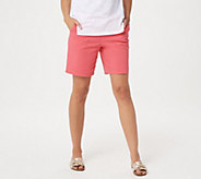 Denim & Co. How Timeless Stretch Two Pocket Shorts - A04916