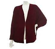 Nicole Richie Collection Velvet Batwing Sleeve Jacket - A228716
