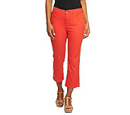 Isaac Mizrahi Live! Icon Marilyn Crop Denim Jeans - A233216