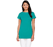 Liz Claiborne New York Essentials Bateau Neck Tunic - A264116