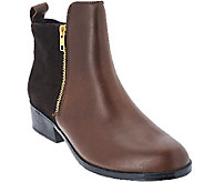 Cougar Leather & Suede Waterproof Ankle Boots - Connect - A270516