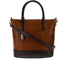 Tignanello Glazed Vintage Leather Shopper Bag