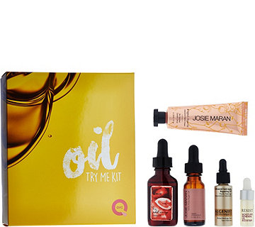 QVC Beauty 5-piece Oil Try-Me Kit - A276216