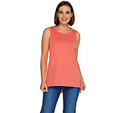 C. Wonder Essentials Crew Neck Tank with Ladder Lace - A277316
