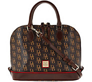 As Is Dooney & Bourke Sutton Zip Zip Satchel - A279216