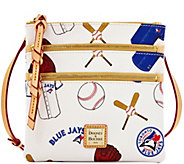 Dooney & Bourke MLB Blue Jays Triple Zip Crossbody - A280016
