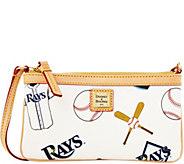 Dooney & Bourke MLB Rays Large Slim Wristlet - A280216