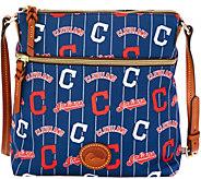 Dooney & Bourke MLB Nylon Indians Crossbody - A281516
