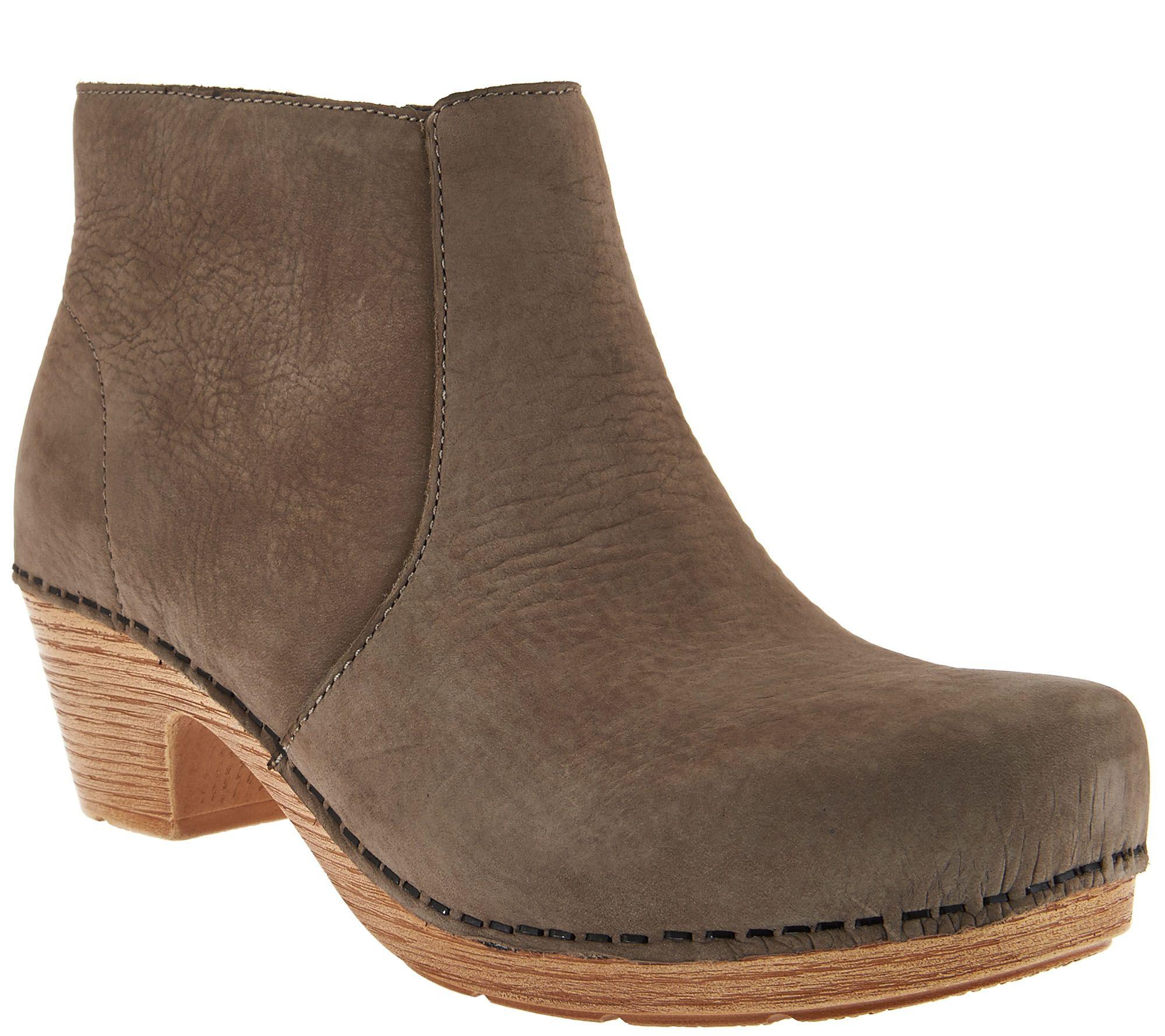 Dansko Nubuck Clog Boots Maria Page 1