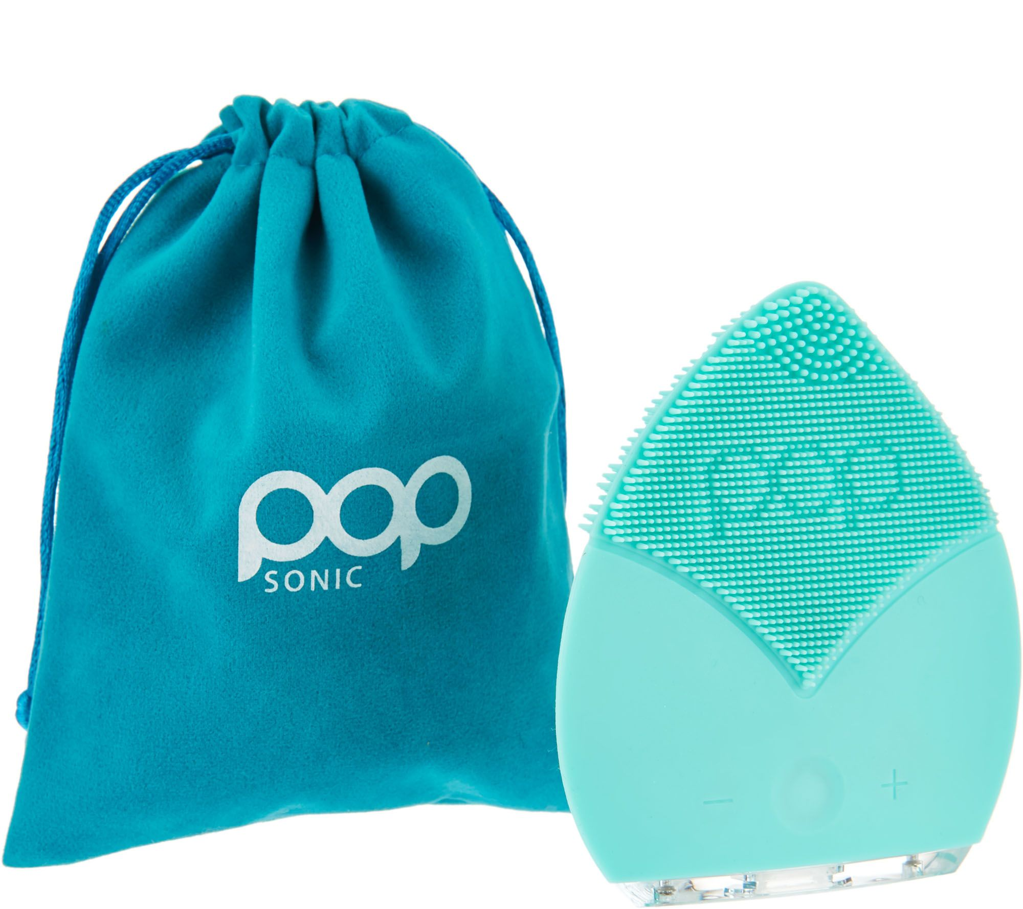 Blue apron qvc - Pop Sonic The Leaf Sonic Facial Cleansing Device A288316
