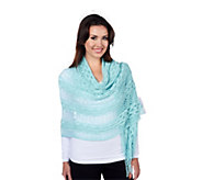As Is Layers by Lizden Open Crochet Scarf - A292116