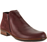 Naot Leather Ankle Boots - Helm - A297316