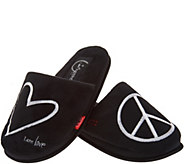 Peace Love World Signature Slippers - A300316