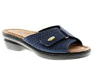 Flexus by Spring Step Kea Leather Slide Sandals - A332016