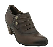 Earth Leather Booties - Amethyst - A356116