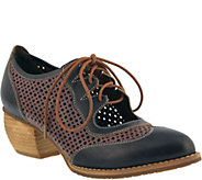 Spring Step LArtiste Leather Lace-Up Shoes - Gabriel - A360116
