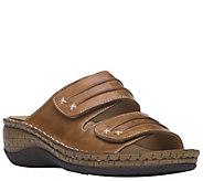 Propet Leather Slide Sandals - June - A411516