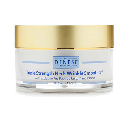 Dr. Denese Super-size Triple Strength Neck Wrinkle Smoother, 4 oz.