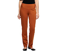 Women with Control Tall Fit Ponte di Roma Knit Pants - A238417