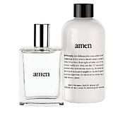 philosophy amen duo 8oz. shower gel and 2oz. spray cologne for men - A239117