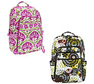 Vera Bradley Signature Print Laptop Backpack - A256017