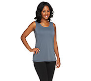 Susan Graver Essential Premier Knit Scoop Neck Tank - A257117
