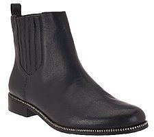 Aimee Kestenberg Leather Chelsea Ankle Boots - E...