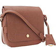 Isaac Mizrahi Live! Nolita Leather Flap Crossbody - A267717