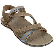 Vionic Orthotic Leather Sport Sandals w/ Adj. Straps - Muir - A275617